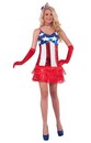 4th Of July Patriotic Sparkle Adult Costume