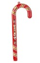 San Francisco 49Ers Candy Cane Ornament Set