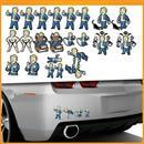 Fallout 4 Family Auto Decals Set