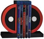 Marvel Deadpool Logo Resin Bookends