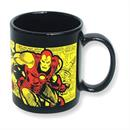 Marvel The Invincible Iron Man Comic Wrap 11 oz Ceramic Mug