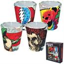 Grateful Dead Tie Dye Shot Glass 4-Pack
