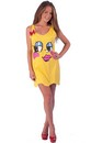 Ms. Pac-Man Character Adult Tank Dress