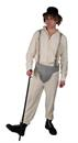 A Clockwork Orange Brother Droog Deluxe Adult Costume