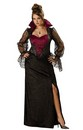 Midnight Vampiress Gown Dress Designer Costume Adult