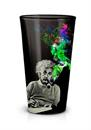 Albert Einstein Smoke Galaxy 16oz Pint Glass