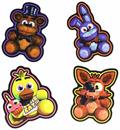 Five Nights At Freddy's Character Magnets, Set of 4