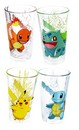 Pokemon 16oz Character Pint Glasses, Set of 4