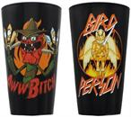 Rick and Morty 16oz Scary Terry & Bird Person Pint Glass 2-Pack