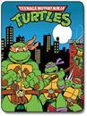 "Teenage Mutant Ninja Turtles 45""x60"" City Fleece Throw Blanket"