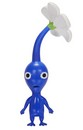 "Pikmin Series 4 Nintendo 2.5"" Mini Figure Blue Pikmin"