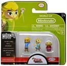 Legend of Zelda Micro Figure Set: Grandma, Aryll, Outset Link