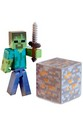"Minecraft 3"" Series 1 Figure With Accessories: Zombie"