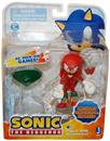 "Sonic 3"" Action Figure With Accessories Set Knuckles & Emerald"