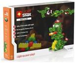 Light Stax Illuminated Blocks, 105-Piece Reptiles Set