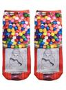 Gumball Photo Print Ankle Socks