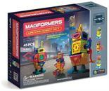 Magformers Hi-Tech Walking Robot 45 Piece Set