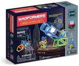 Magformers Hi-Tech Magic Space 55 Piece Set