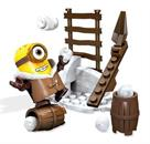 Minions Mega Bloks 26-Piece Construction Set, Snowball Fight