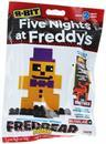 Five Nights at Freddy's 8-Bit Buildable Figure: Plush Fredbear