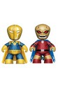 "DC Universe 2"" Mini Mezitz 2 Pack Dr. Fate and Demon Etrigan Figures"