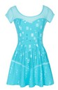 "Disney's Frozen ""I Am Elsa"" Junior Skater Dress"