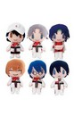 "Gurumittsu Prince Of Tennis Blind Box 4"" Single Random Mini Plush"