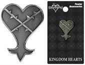 Kingdom Hearts Pewter Lapel Pin: Heartless