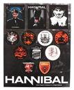 Hannibal Television Series 13-Piece Sticker Sheet