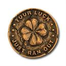 Leprechaun Gold Coin Collector Pin