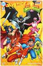 DC Justice League/Power Rangers #1 (Nerd Block Exclusive Cover)