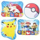 4 Pokemon Pikachu Print Decorations Party Supplies