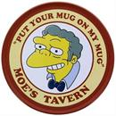 "The Simpsons Moe's Tavern ""Put Your Mug On My Mug"" Coaster"