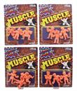 Street Fighter MUSCLE Mini Figures, Set of 12, Arcade Block Exclusive