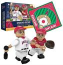 "LA Angels OYO MLB Sports 3"" Minifigure Manga Art Set: Ohtani Manga"