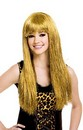 Glitzy Glam Gold Blonde Adult Costume Wig