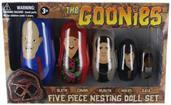 The Goonies 5-Piece Plastic Nesting Doll Set