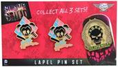 Suicide Squad Lapel Pin 3-Pack, Set 3