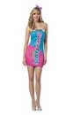 Nestle SweeTarts Costume Mini Dress Adult