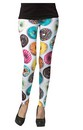 Donut Leggings Adult Costume Accessory