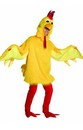 Fuzzy Chicken Adult Costume