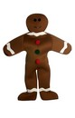 Gingerbread Man Adult Deluxe Costume