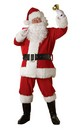 Regal Regency Plush Santa Suit Adult Costume