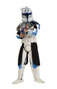 Star Wars Deluxe Eva Clonetrooper Captain Rex Child Costume