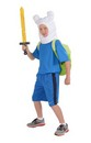 Adventure Time Deluxe Finn Costume Child