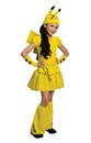 Pokemon Girl Pikachu Dress Costume Child