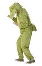 Crocodile Adult Deluxe Costume With Hood