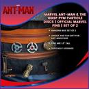 Marvel Ant-Man & The Wasp Pym Particle Discs | Official Marvel Pins | Set of 2