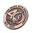 Star Wars 40th Anniversary Collectible Bronze Pin, SDCC '17 Exclusive