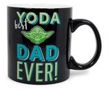 "Star Wars ""Yoda Best Dad Ever"" Ceramic Mug 